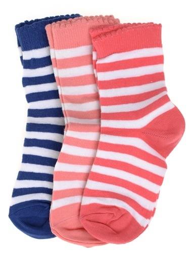 Soo be 3'lü Çorap Renkli